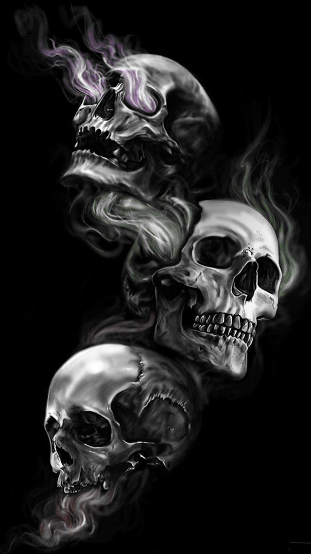 Skull Phone Wallpapers - Top Free Skull