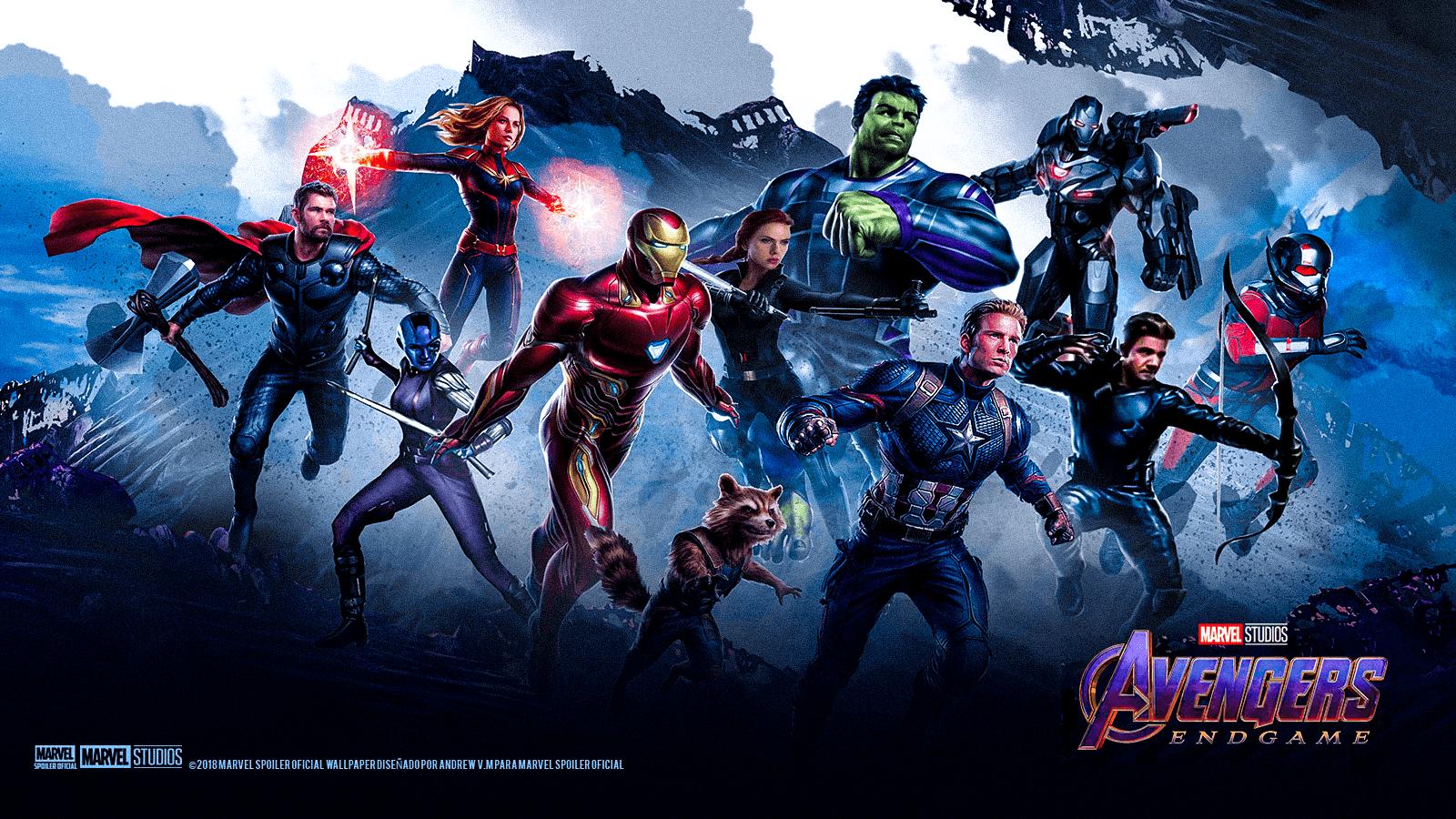 1080p Avengers Endgame Poster 4k