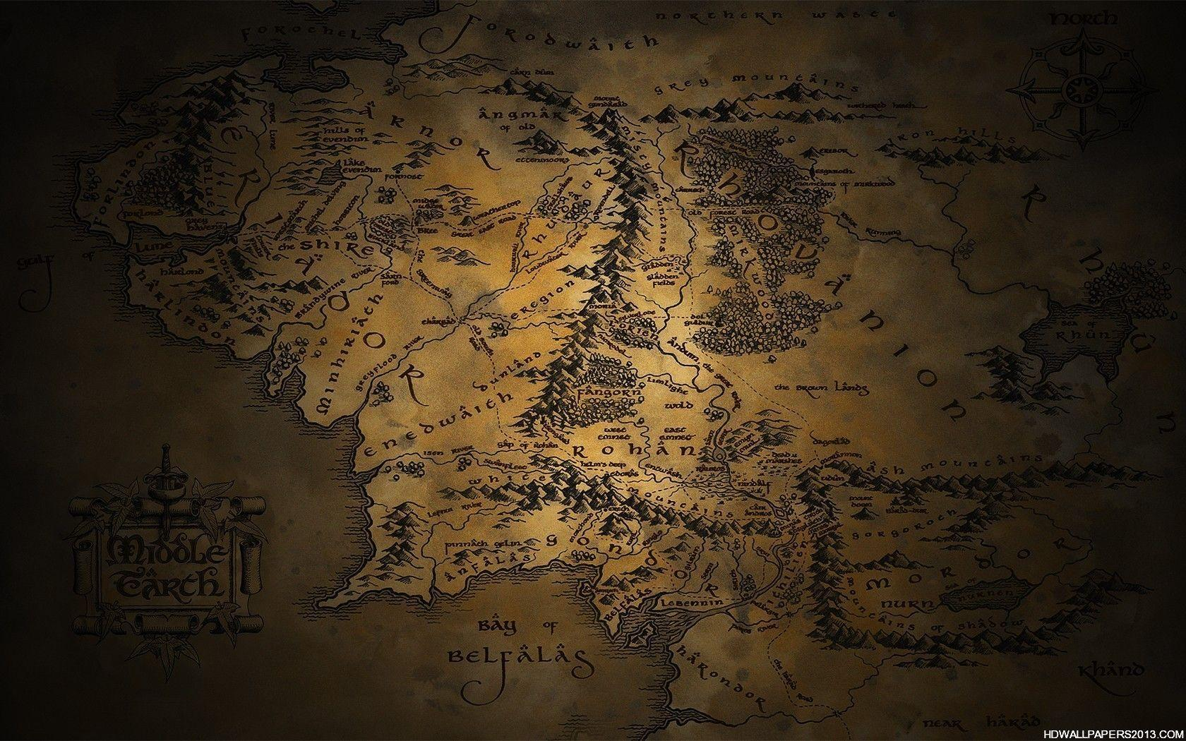Middle Earth Wallpapers - Top Free Middle Earth Backgrounds ... on