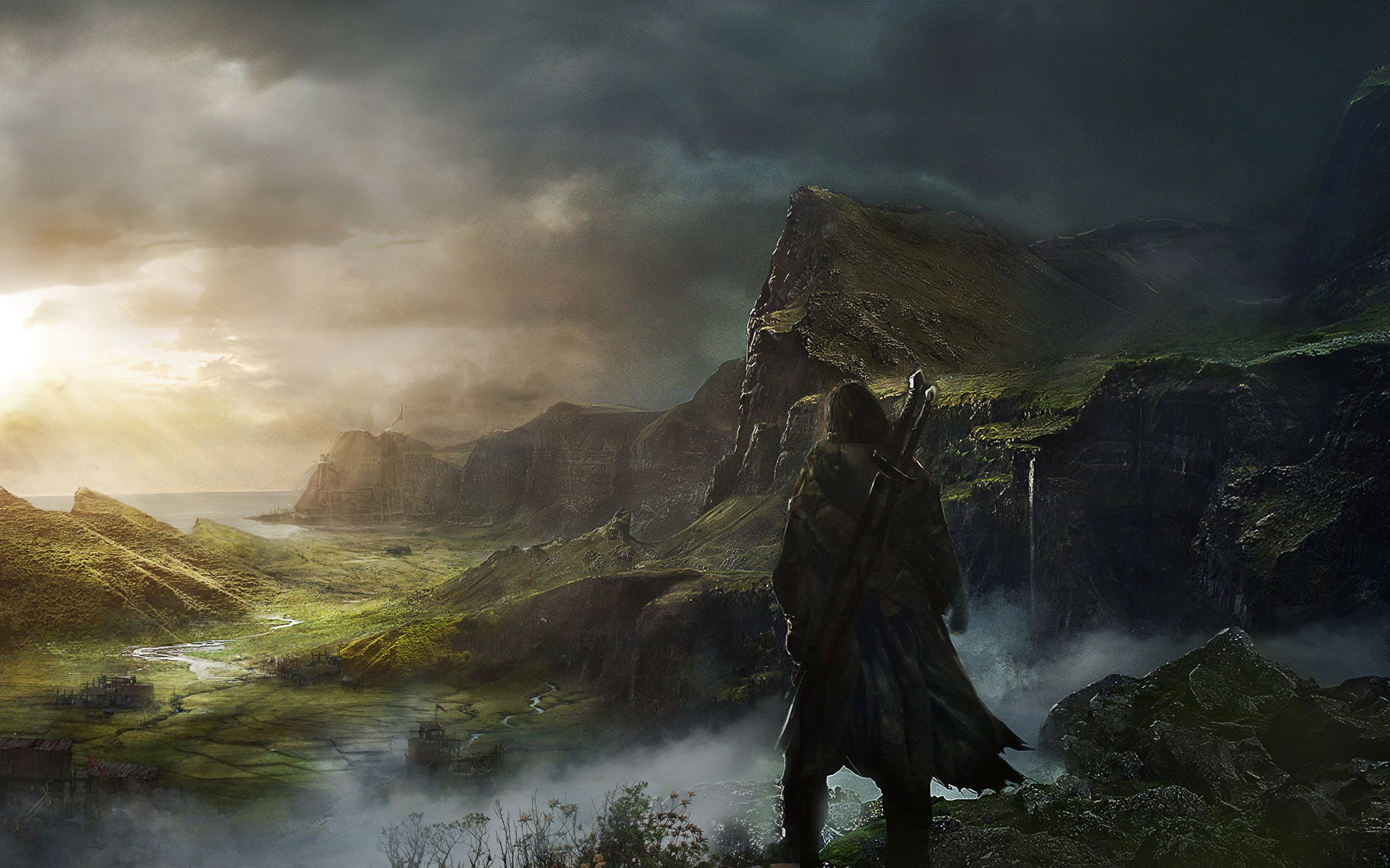 Middle earth wallpapers top free middle earth - Middle earth iphone wallpaper ...