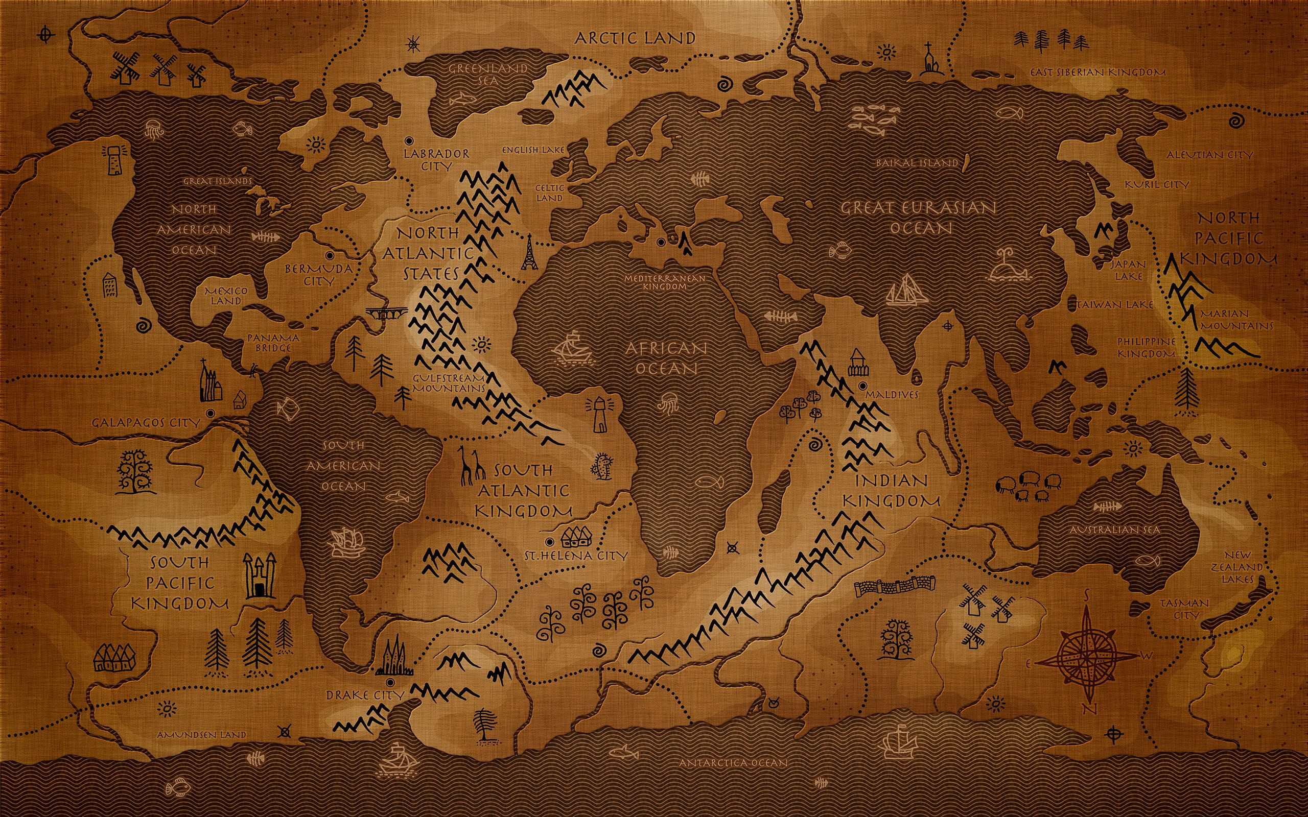 Lotr Map Wallpapers Top Free Lotr Map Backgrounds Wallpaperaccess