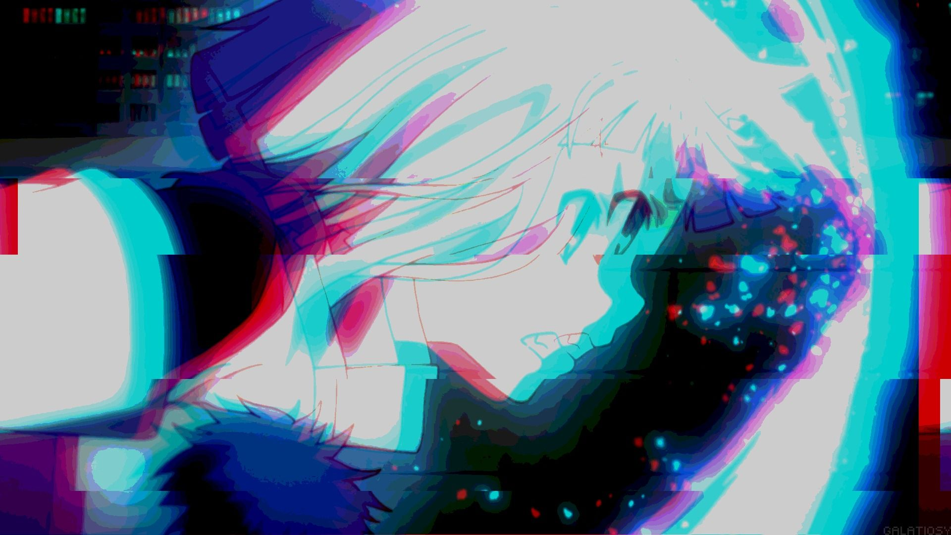 Anime Glitch Wallpapers Top Free Anime Glitch Backgrounds