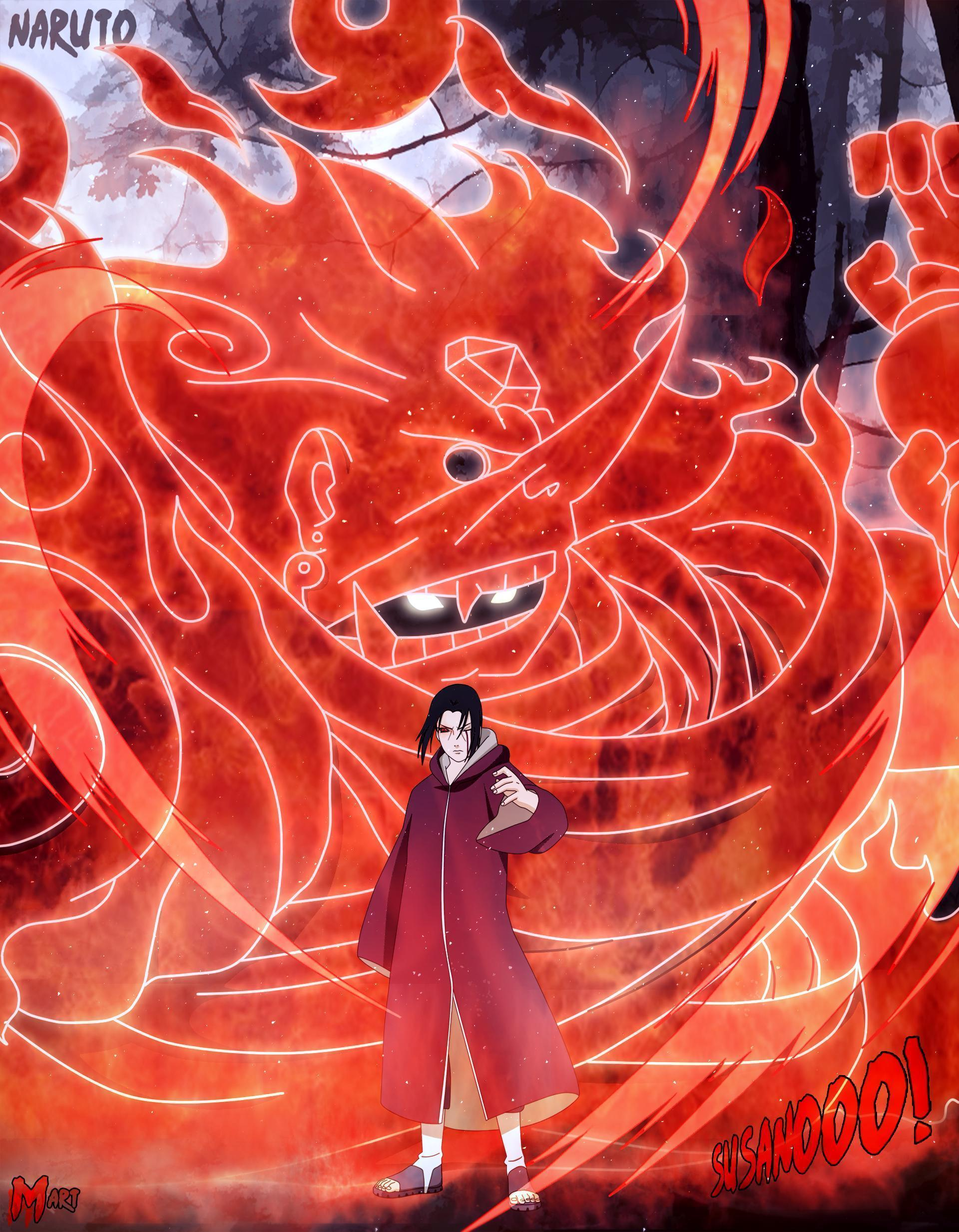 Itachi Susanoo Wallpapers Top Free Itachi Susanoo