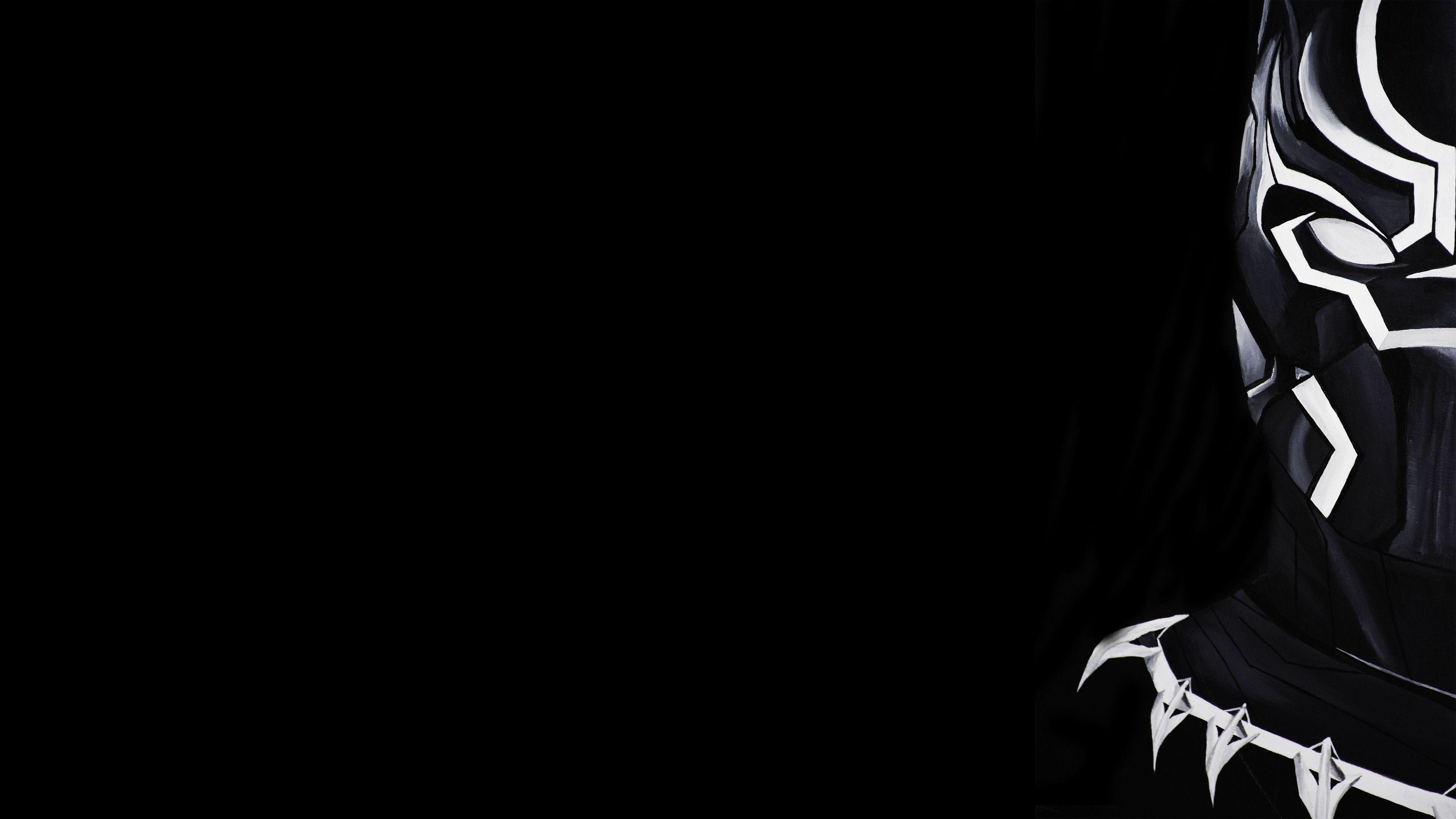 Black Panther 4K Ultra HD Dark Wallpapers - Top Free Black ...