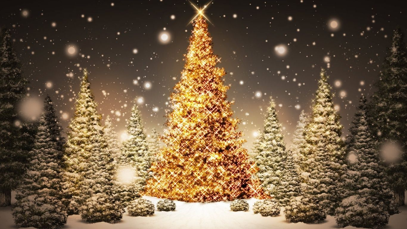 1366 X 768 Hd Christmas Wallpapers Top Free 1366 X 768 Hd