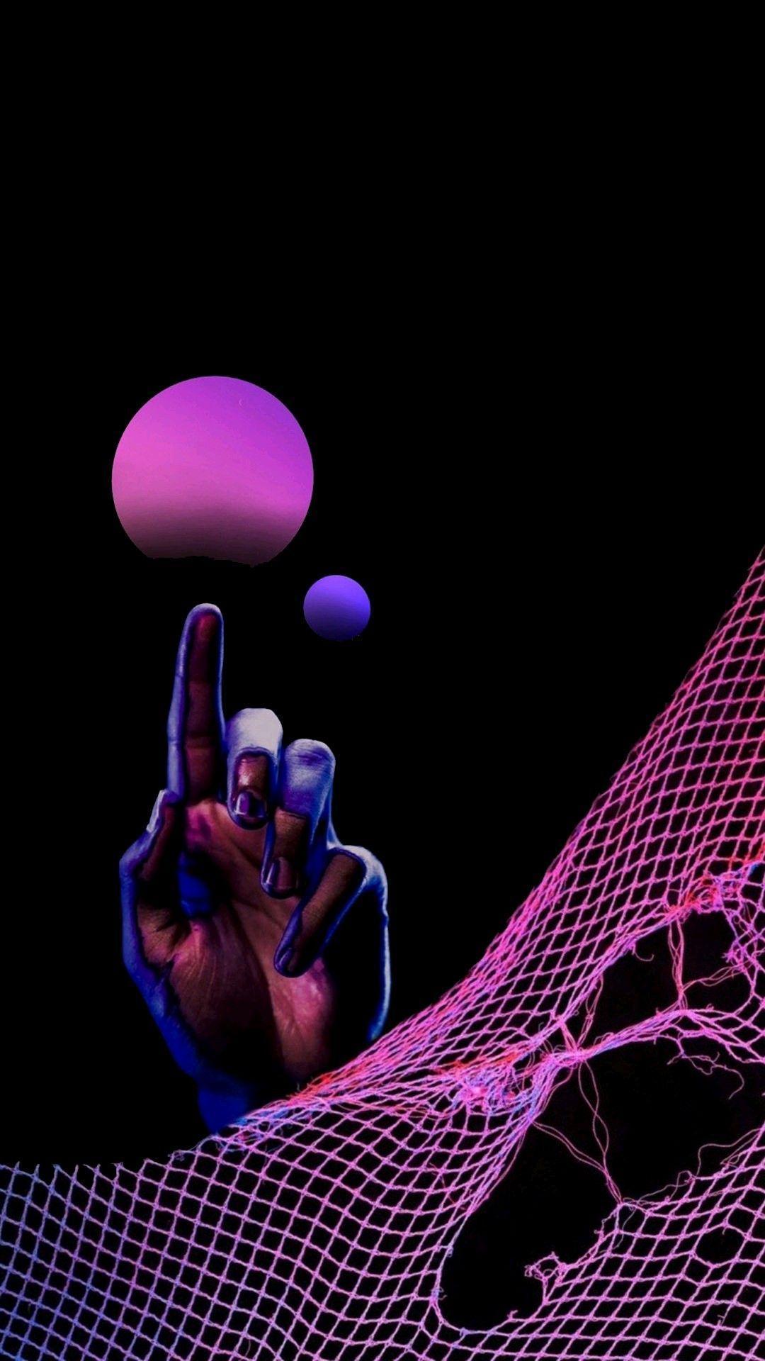 Hands Aesthetic Neon Wallpapers - Top Free Hands Aesthetic ...