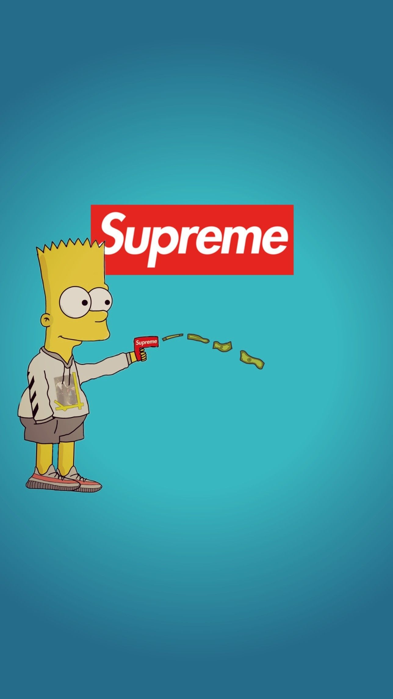 High Bart Simpson Supreme Wallpapers Top Free High Bart Simpson
