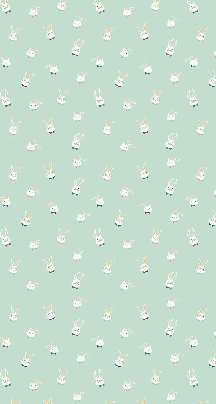 Bunny Pattern Wallpapers Top Free Bunny Pattern Backgrounds