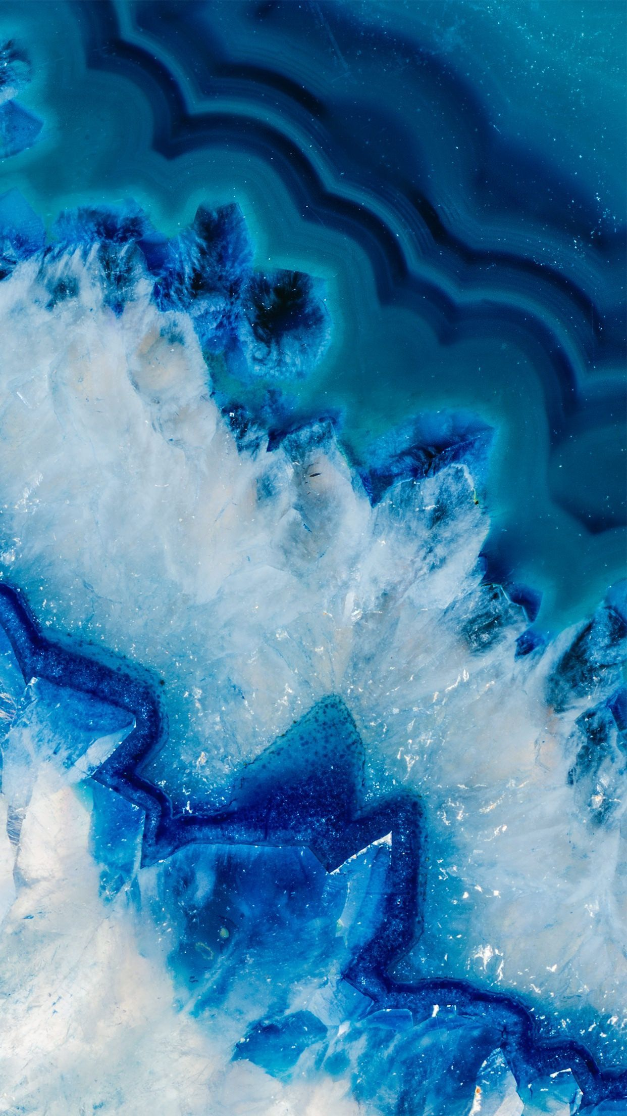 Blue Geode Wallpapers - Top Free Blue Geode Backgrounds ...