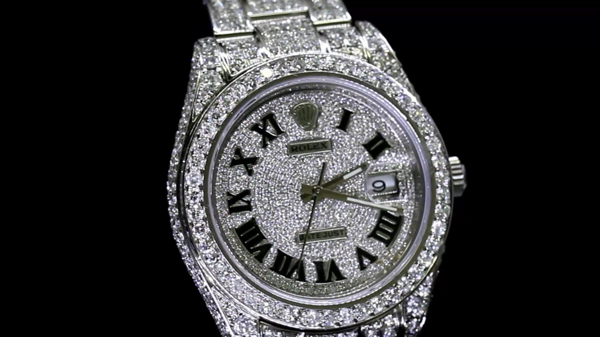 Rolex Iced Out Wallpapers Top Free Rolex Iced Out Backgrounds Wallpaperaccess