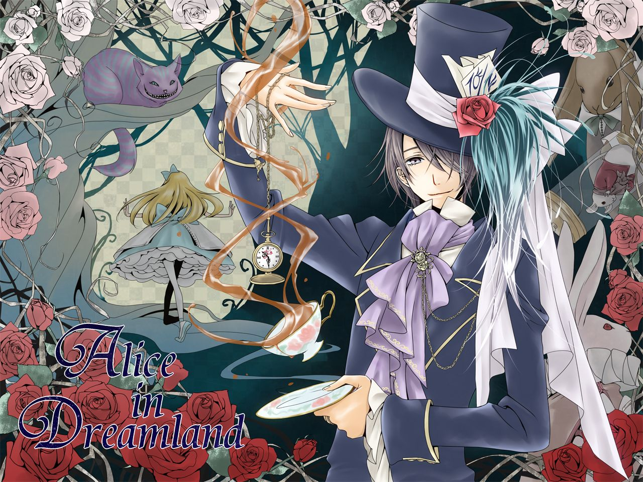 Alice In Wonderland Anime Wallpapers Top Free Alice In