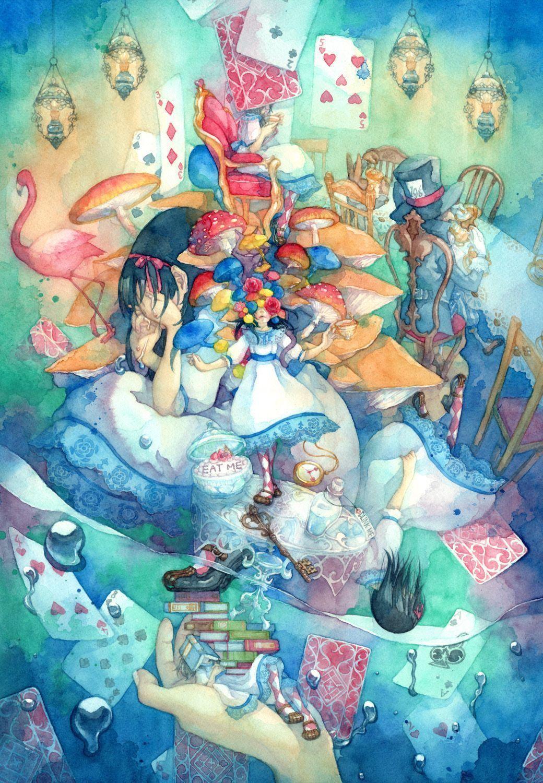 alice in wonderland wallpaper anime Alice In Wonderland Computer