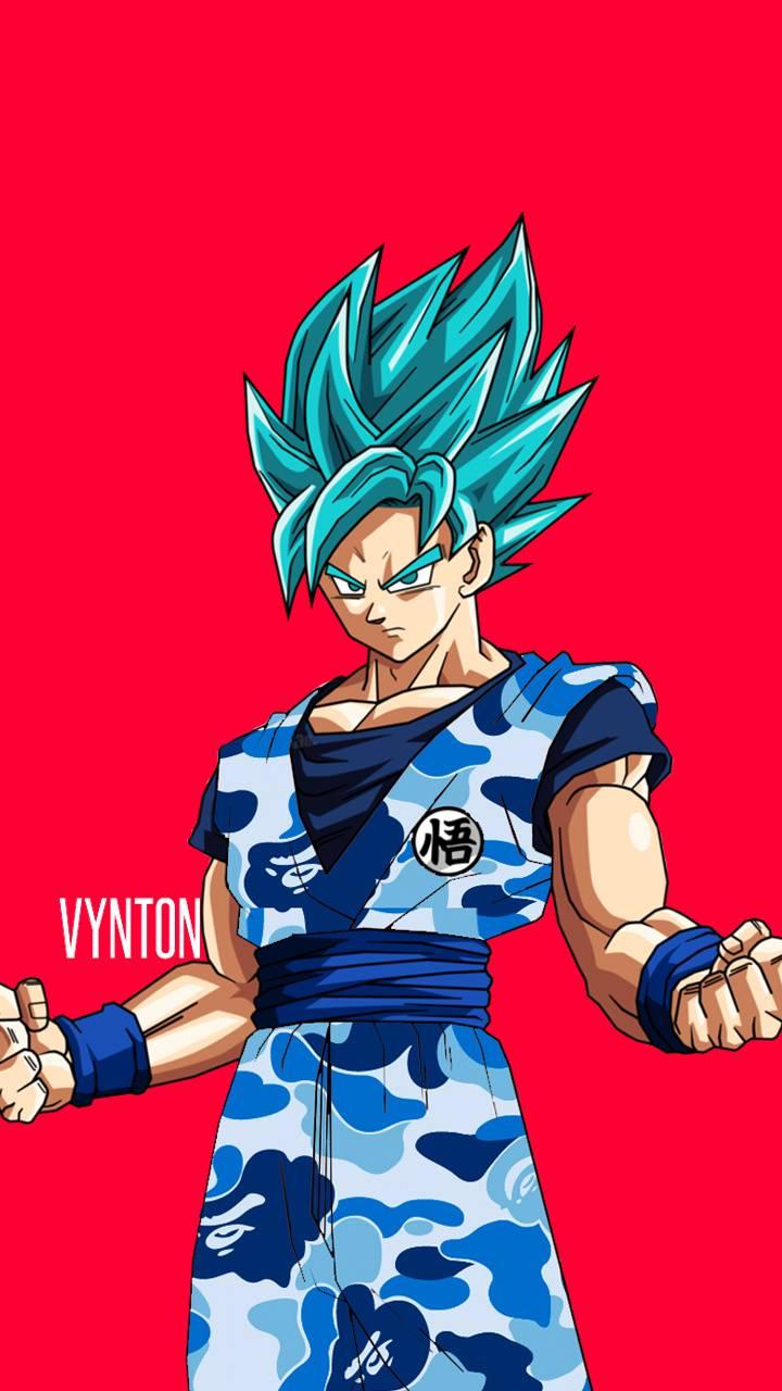 Supreme Goku Wallpapers Top Free Supreme Goku Backgrounds Wallpaperaccess