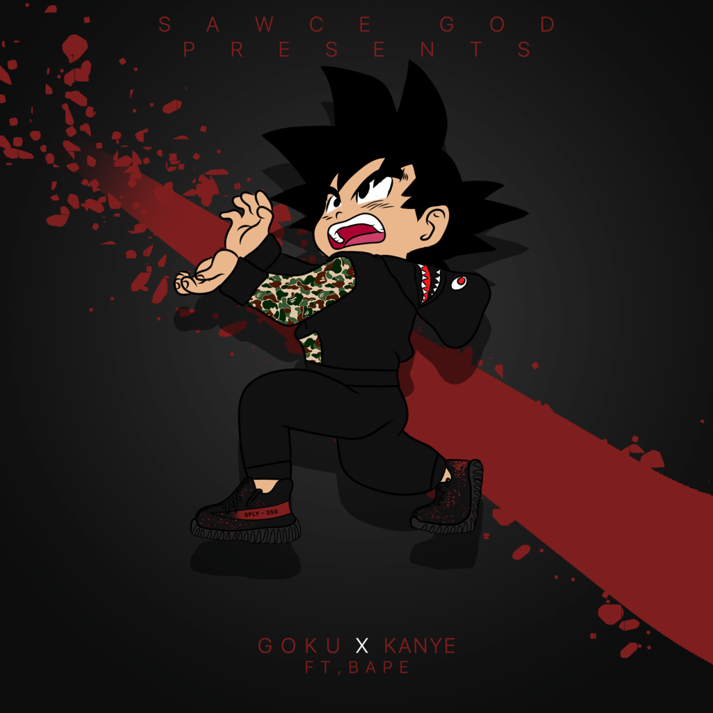 "1080x1080 Supreme Goku Wallpapers"">"