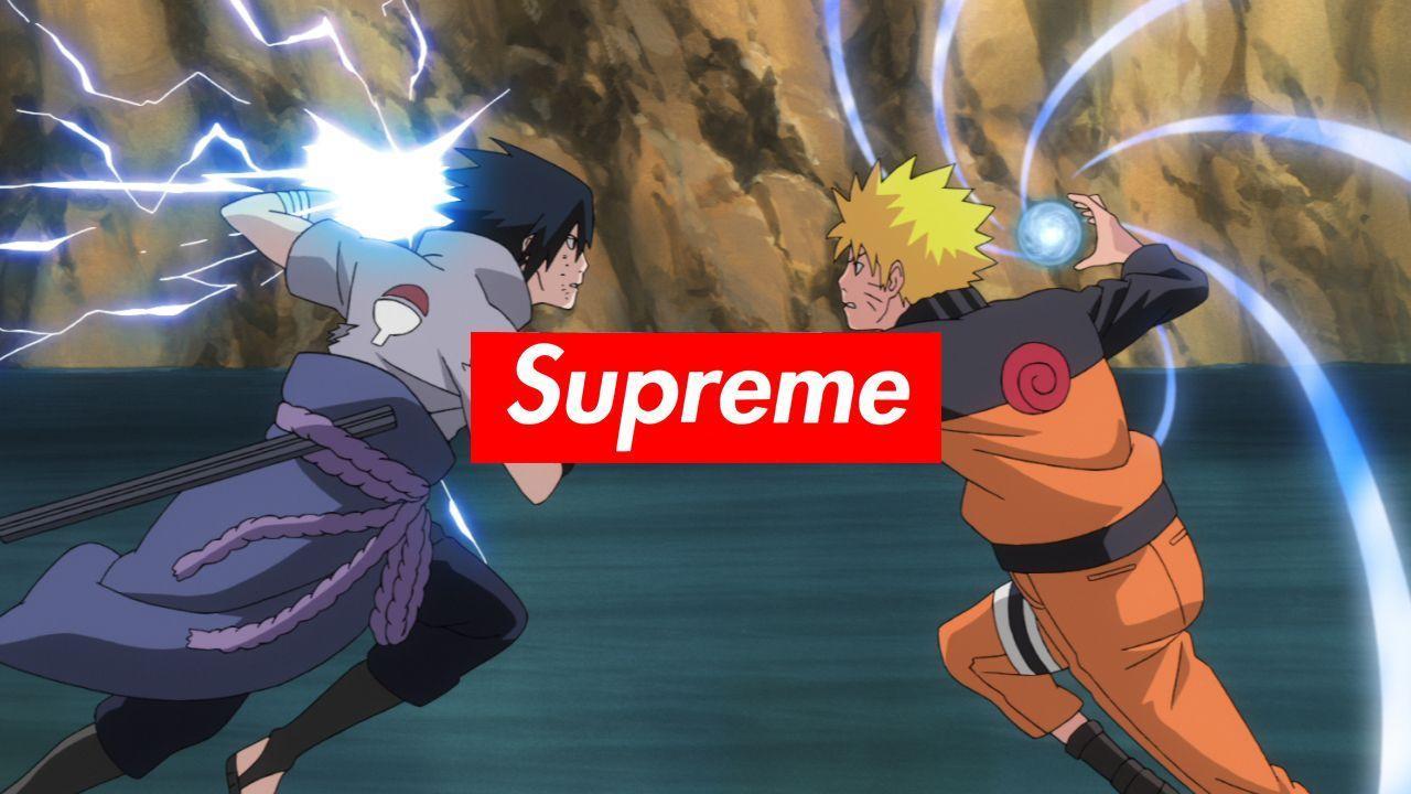 Naruto Bape Supreme Wallpapers Top Free Naruto Bape Supreme Backgrounds Wallpaperaccess