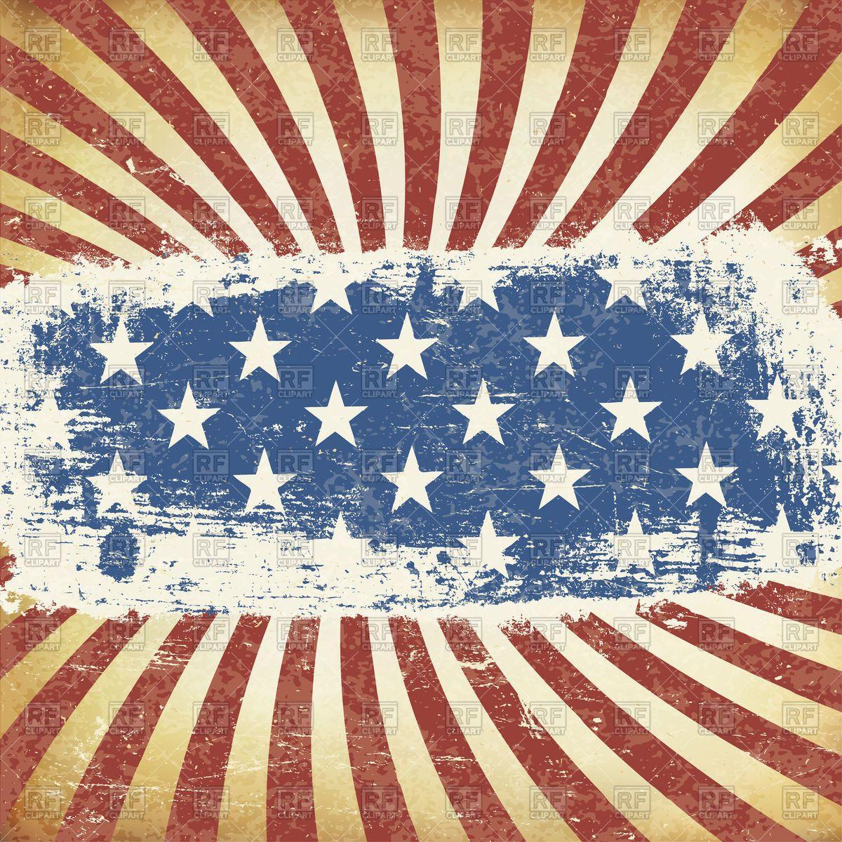 Grunge American Flag Wallpapers