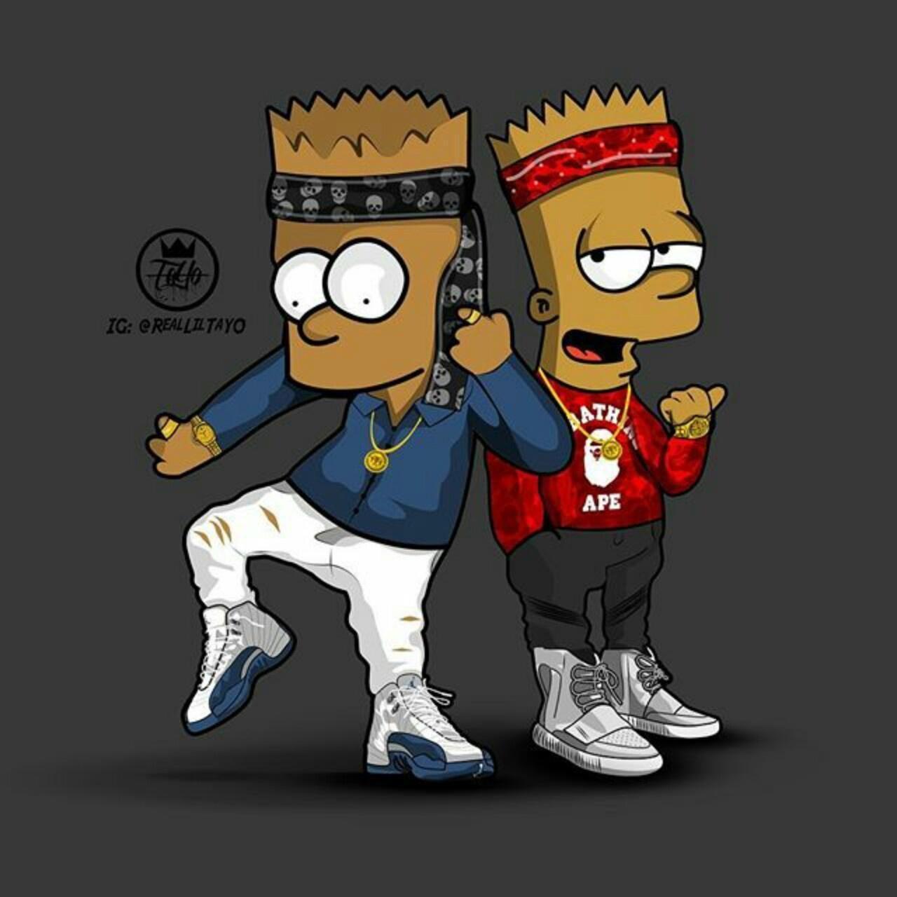 Black Bart Simpson Wallpapers Top Free Black Bart Simpson