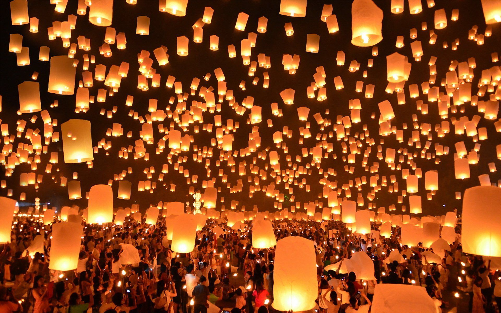 Floating Lanterns Wallpapers Top Free Floating Lanterns Backgrounds Wallpaperaccess