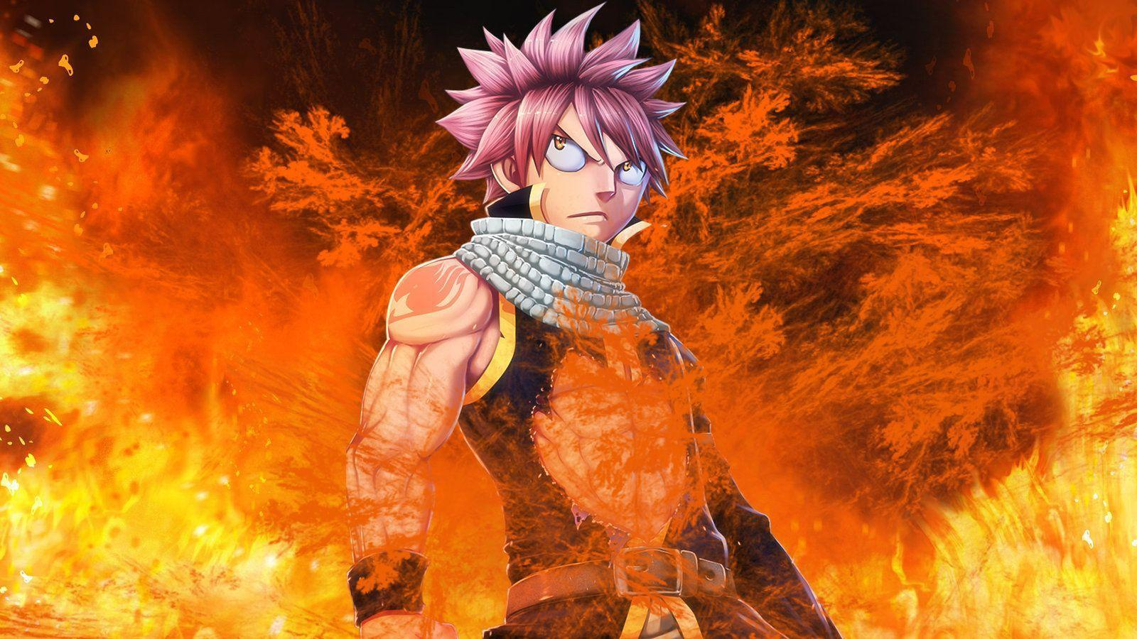 Fairy Tail Natsu Wallpapers - Top Free