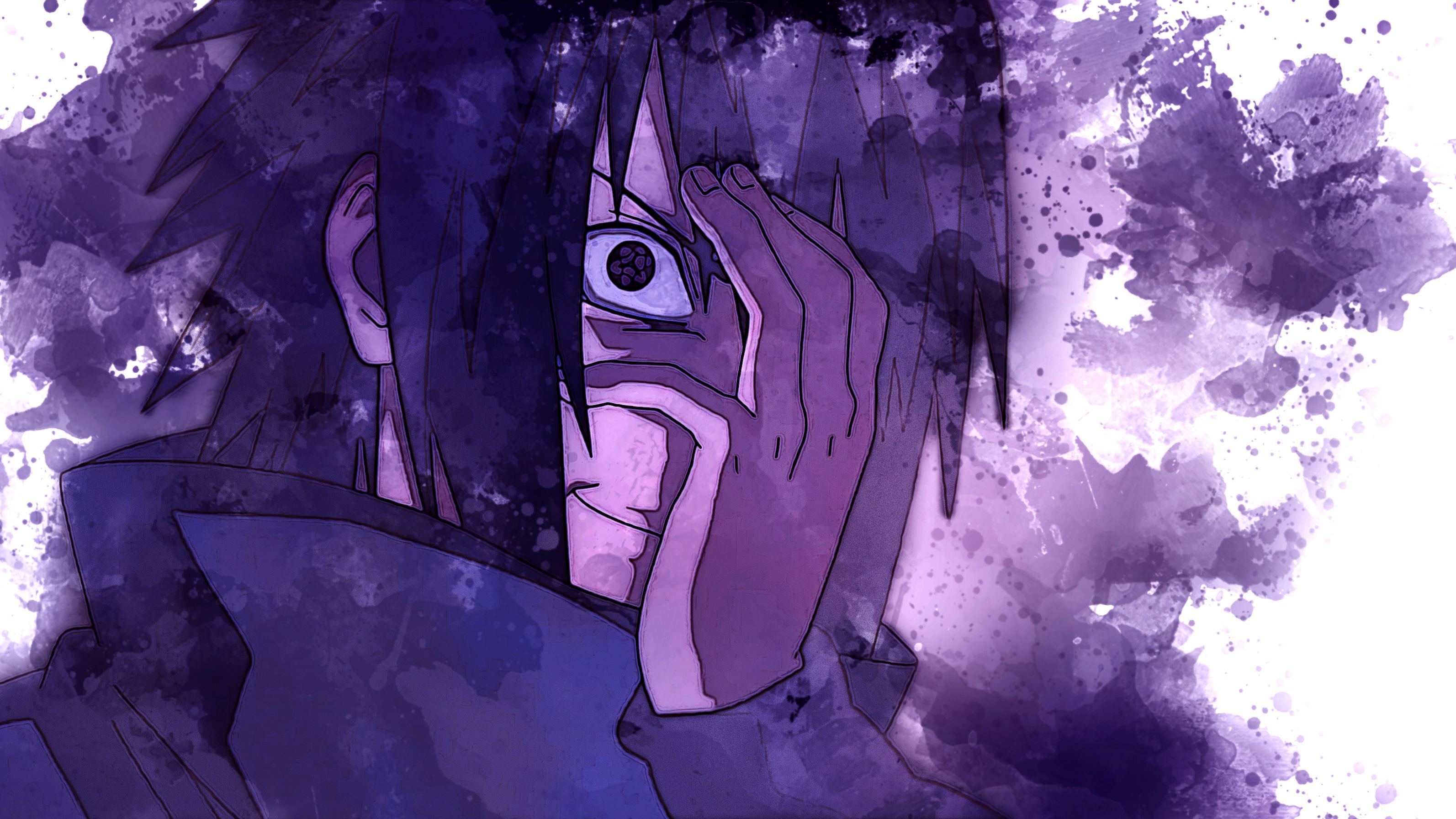 Sasuke Uchiha Mangekyou Sharingan Wallpapers - Top Free ...