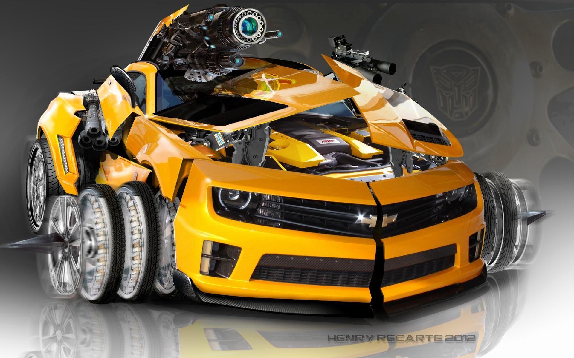 Bumblebee Camaro Wallpapers Top Free Bumblebee Camaro Backgrounds