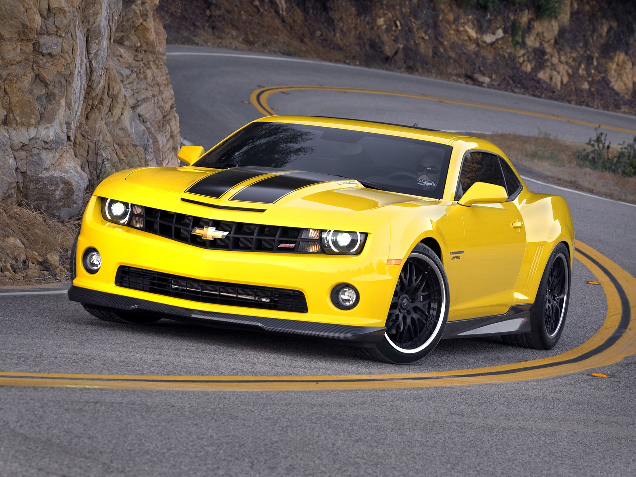 Yellow Camaro Wallpapers Top Free Yellow Camaro Backgrounds Wallpaperaccess