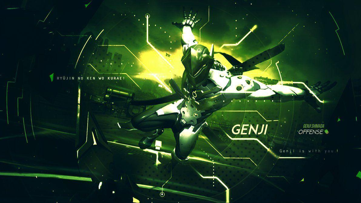Genji Wallpapers Top Free Genji Backgrounds Wallpaperaccess