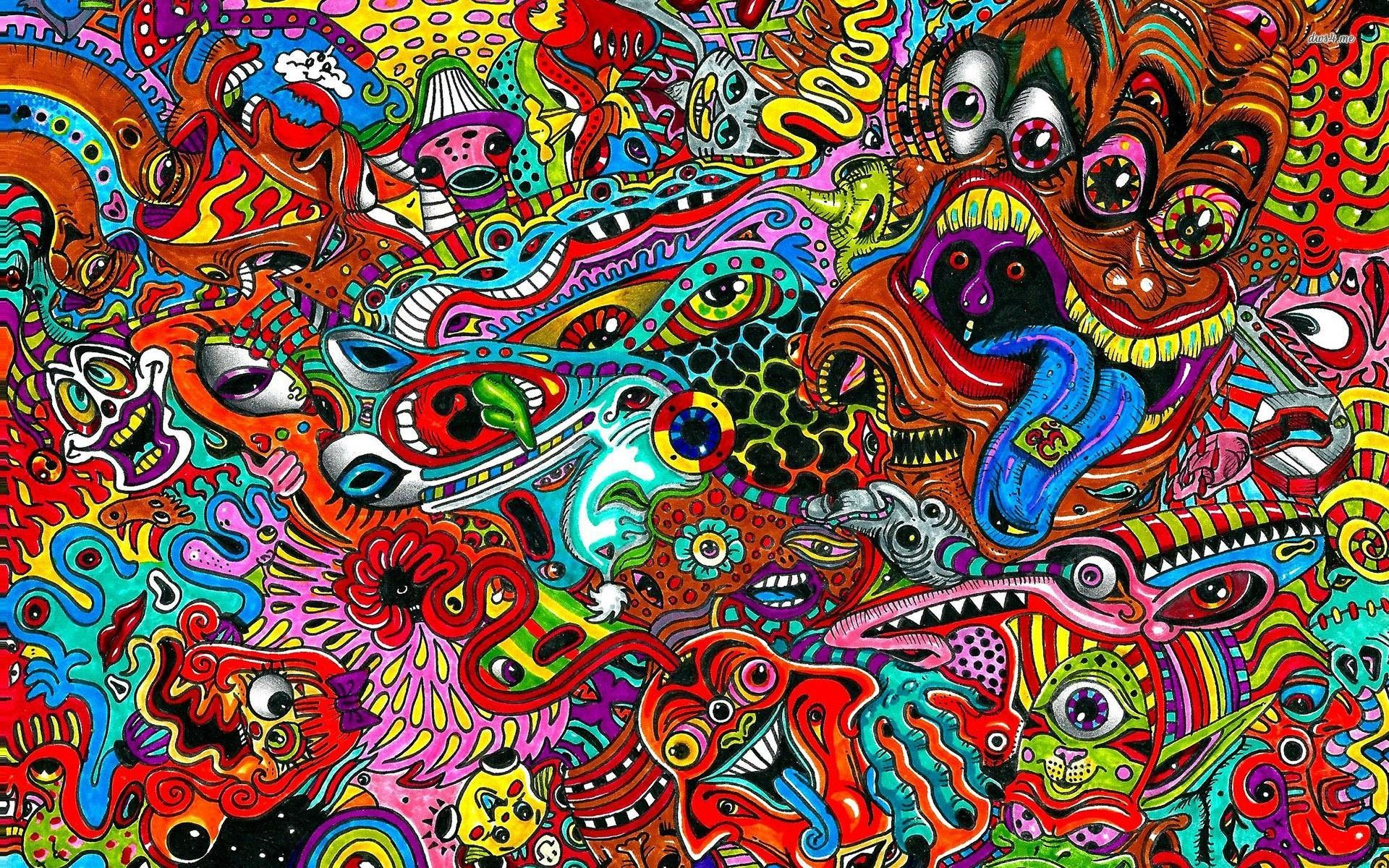 1920x1200 Trippy Hippie Wallpaper 53 - Get HD Wallpapers Free