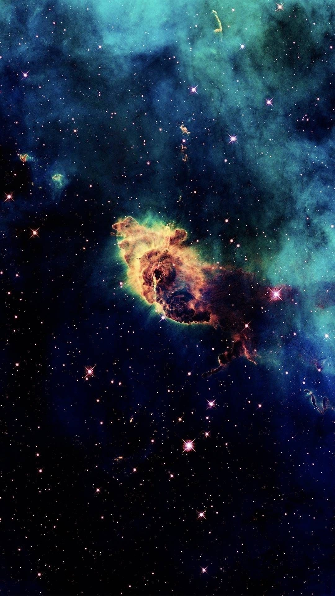 Blue Space Phone Wallpapers - Top Free Blue Space Phone ...