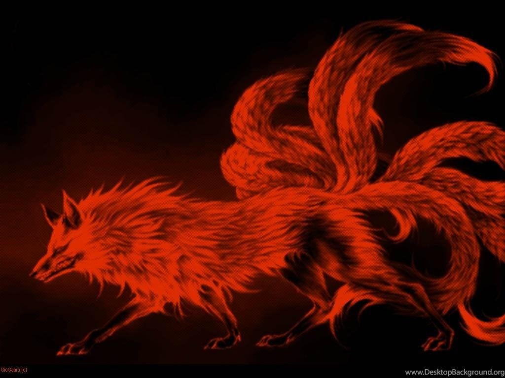 Nine Tailed Fox Wallpapers Top Free Nine Tailed Fox Backgrounds