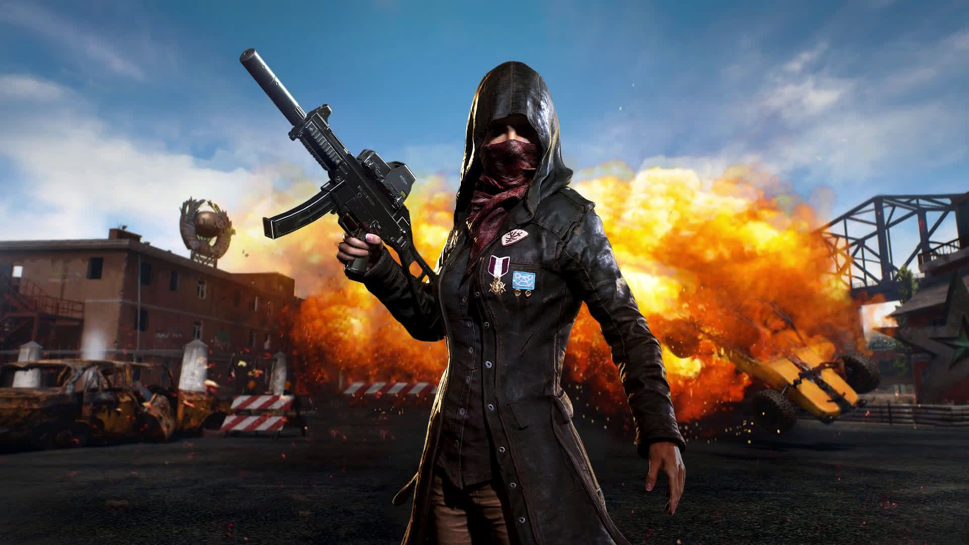 Top Free Anime PUBG Backgrounds