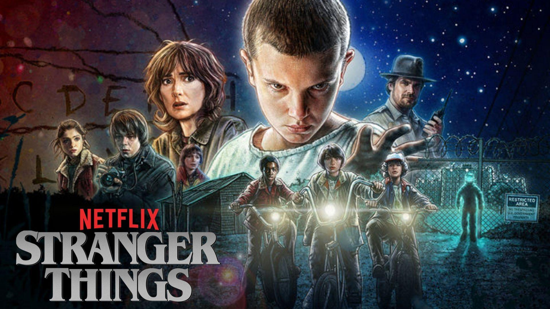 Netflix Stranger Things Desktop Wallpapers Top Free