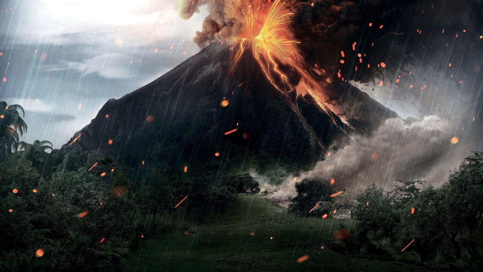 2048x1152 Jurassic World Fallen Kingdom 12k 2048x1152 Độ phân giải HD