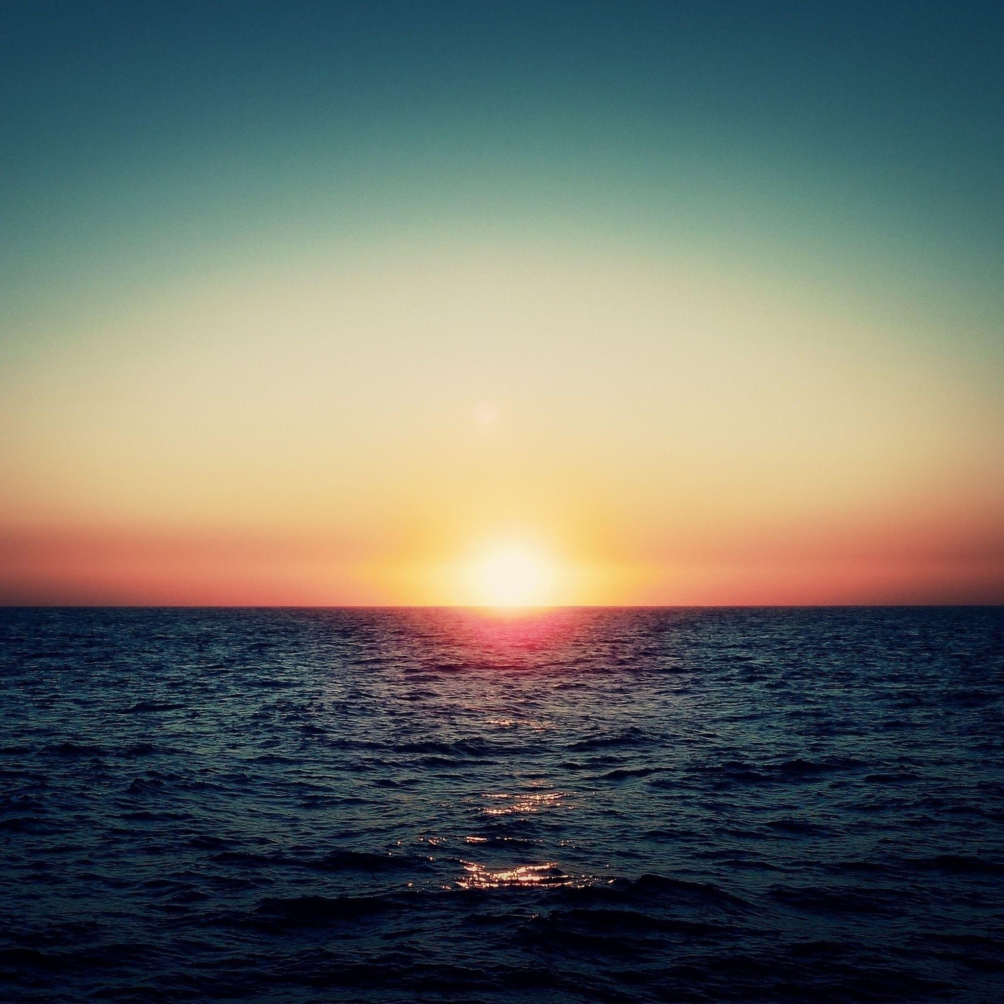 24+ Ocean Sunset Wallpaper Aesthetic Gif