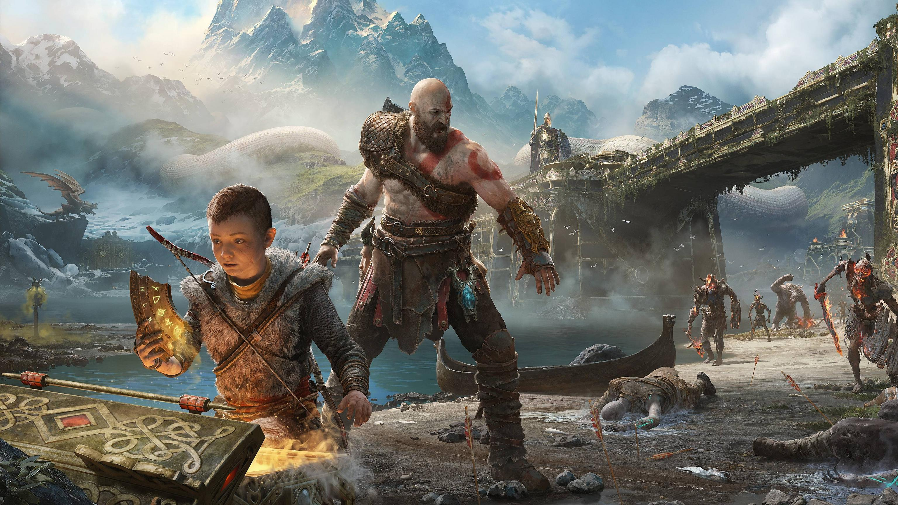 Ps4 God Of War Wallpapers Top Free Ps4 God Of War