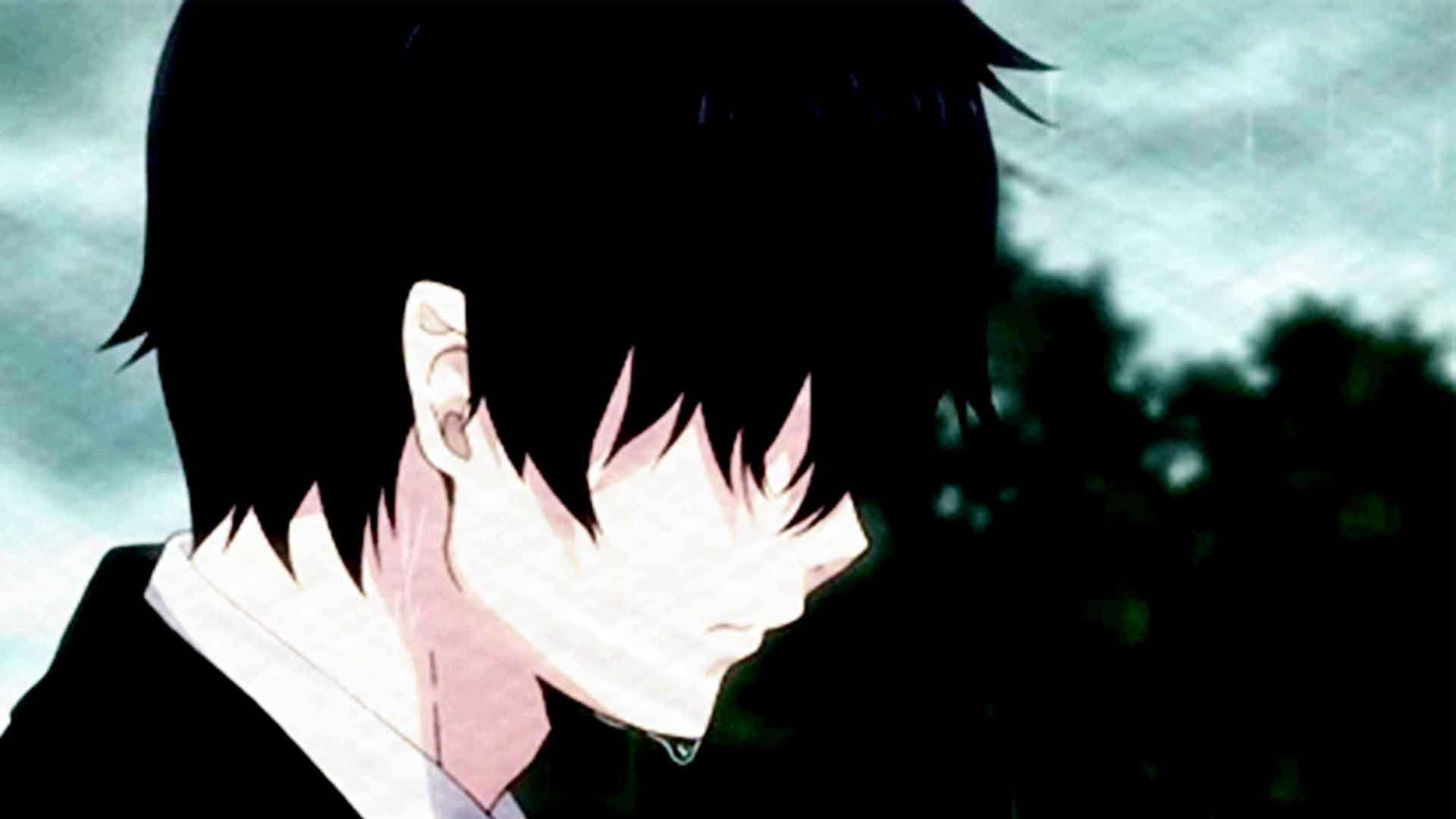 1920x1200 sad girl crying anime manga wallpaper chainimage