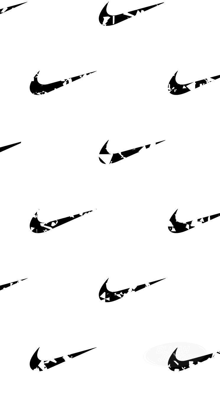 bandera científico Quejar  Nike Black and White Wallpapers - Top Free Nike Black and White ...