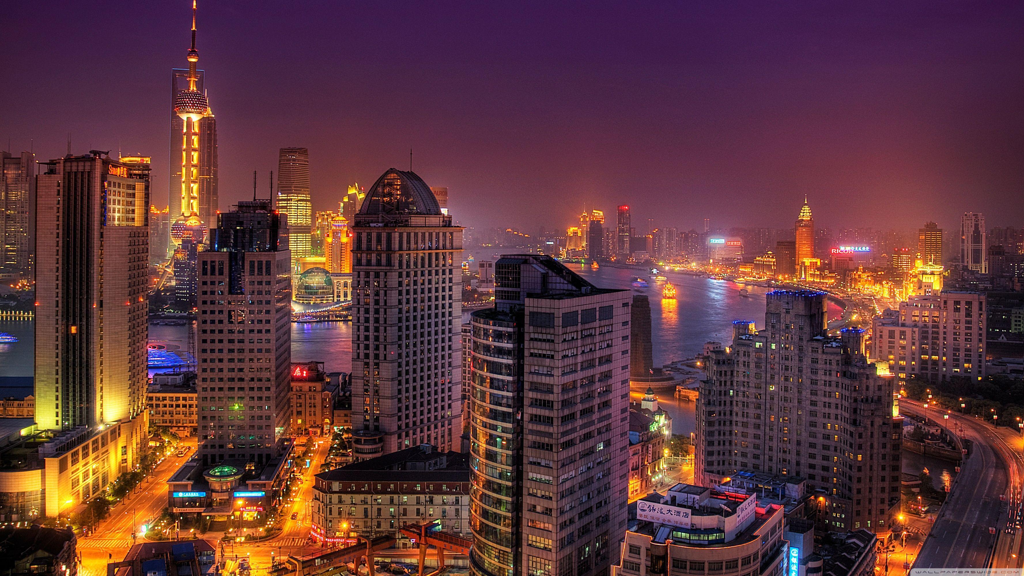 City Lights At Night Wallpapers Top Free City Lights At