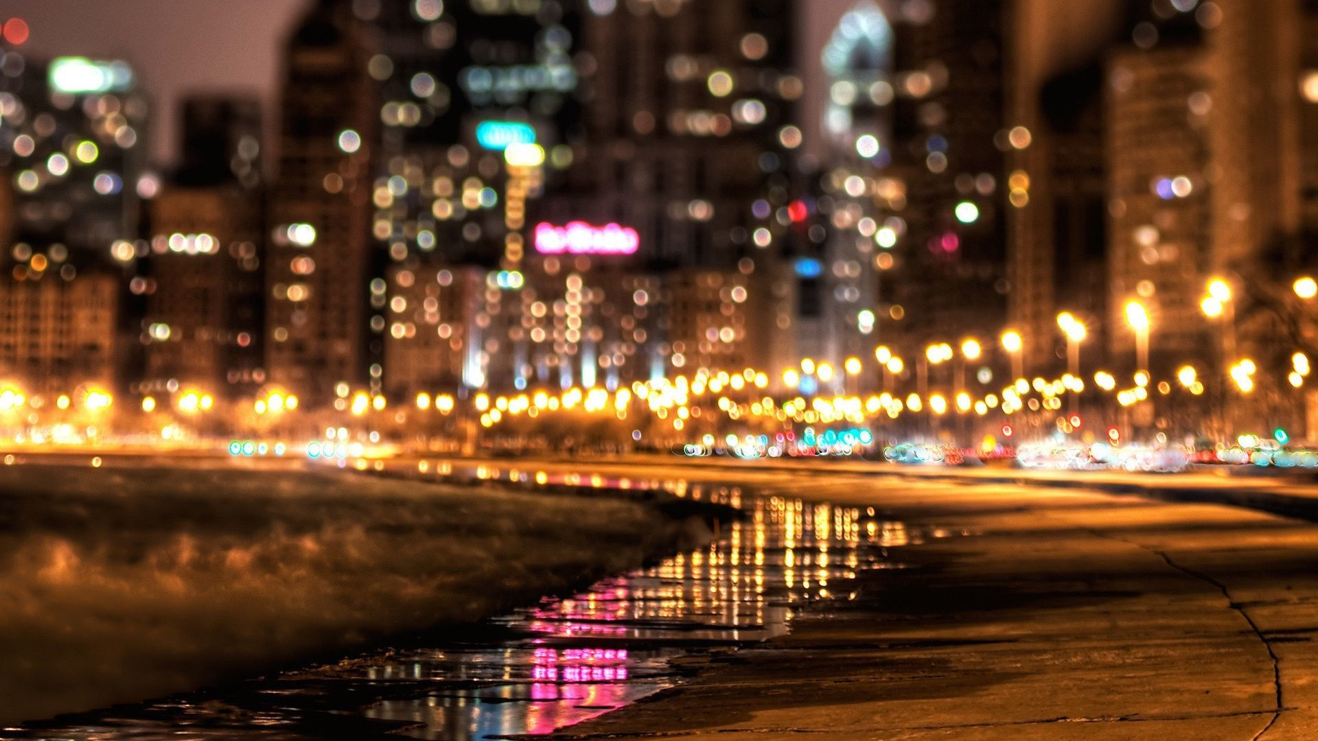 55 Best Free City Lights At Night Wallpapers