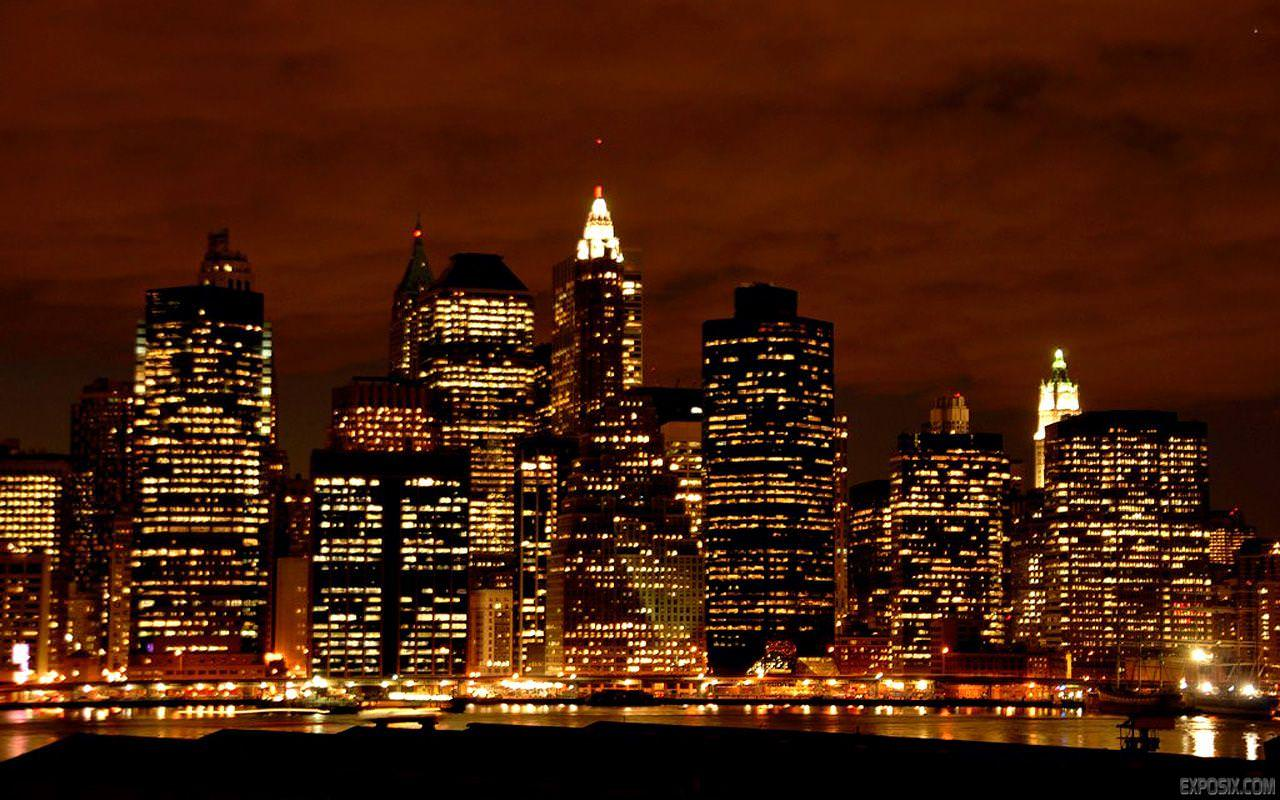 1920x1200 Widescreen Of City Wallpaper Hd Tag Wallpaperhd Night Picture Images