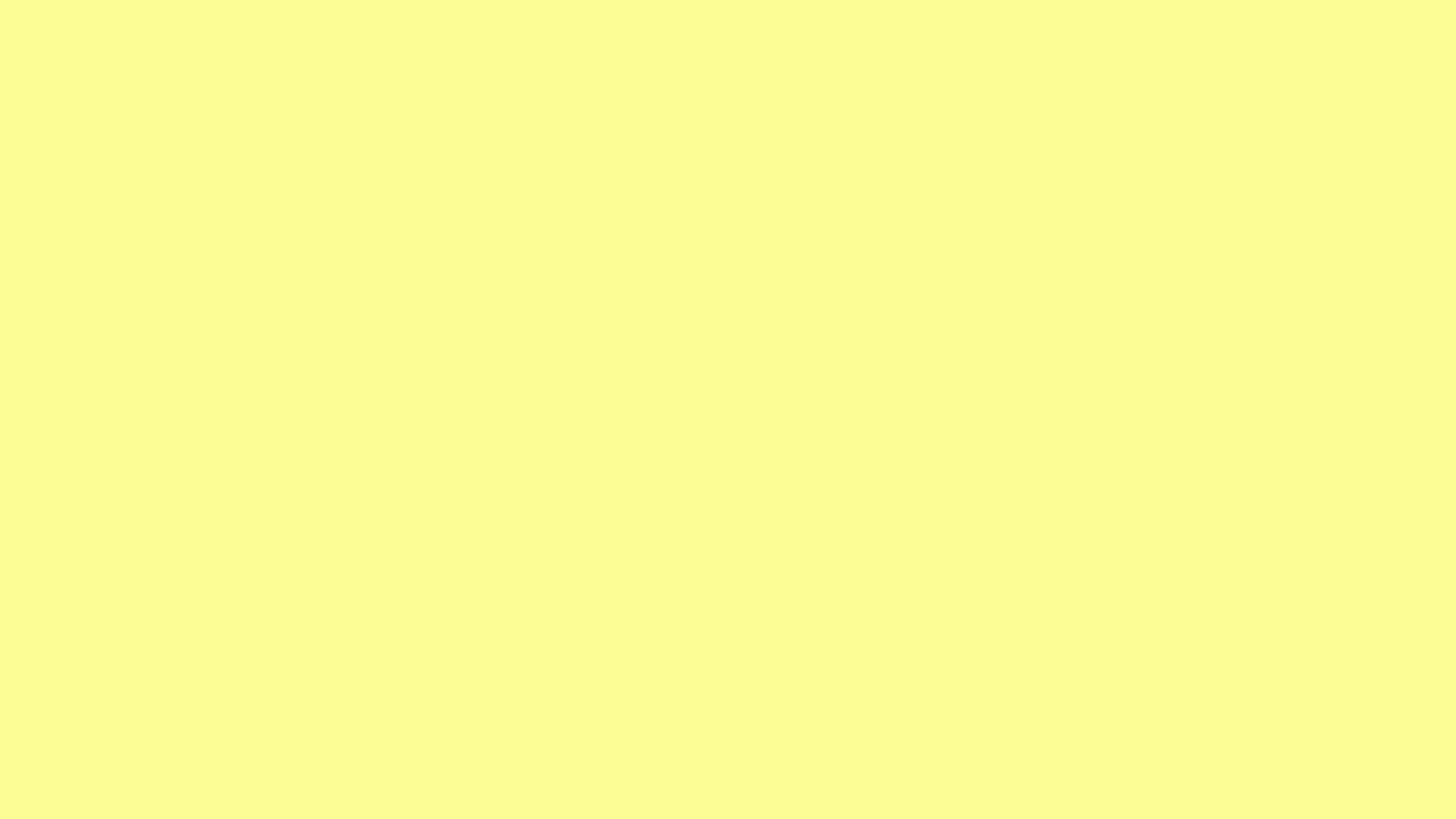 2560x1440 Nền rắn màu vàng pastel