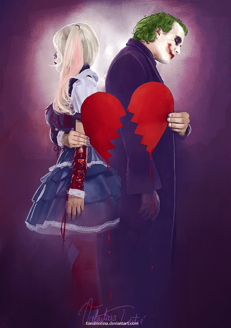 Mad Love Joker And Harley Quinn Wallpapers Top Free Mad