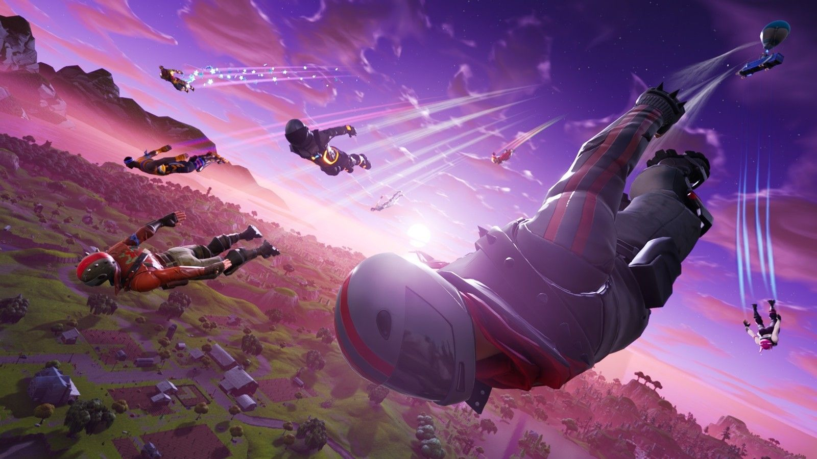 Fortnite 4k Dual Monitor Wallpapers Top Free Fortnite 4k