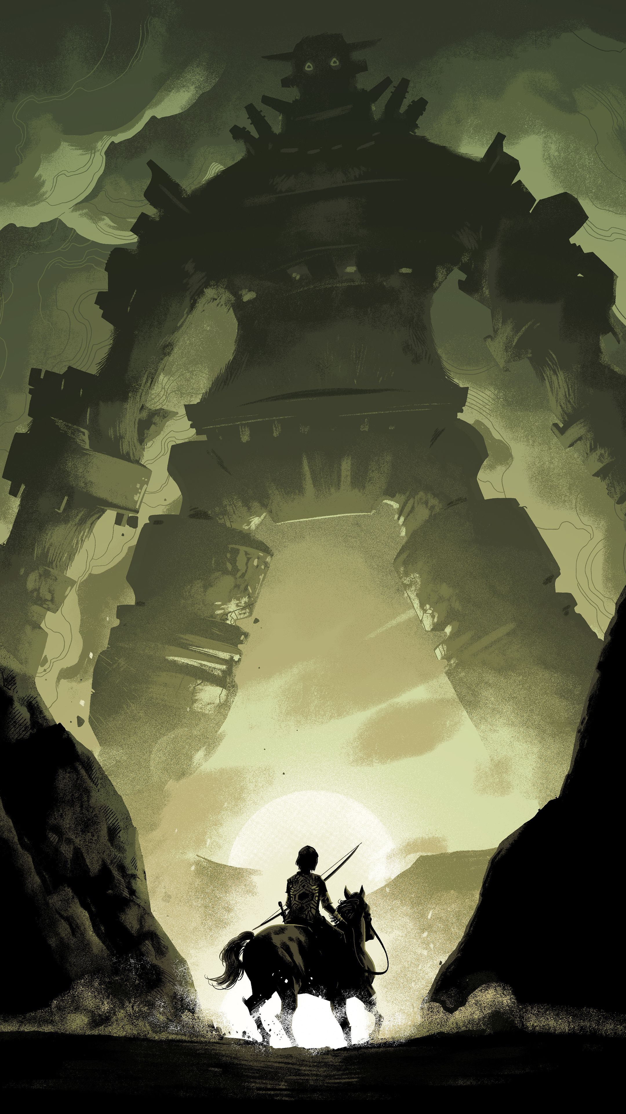 Colossus iphone wallpapers top free colossus iphone - Shadow of the colossus iphone wallpaper ...