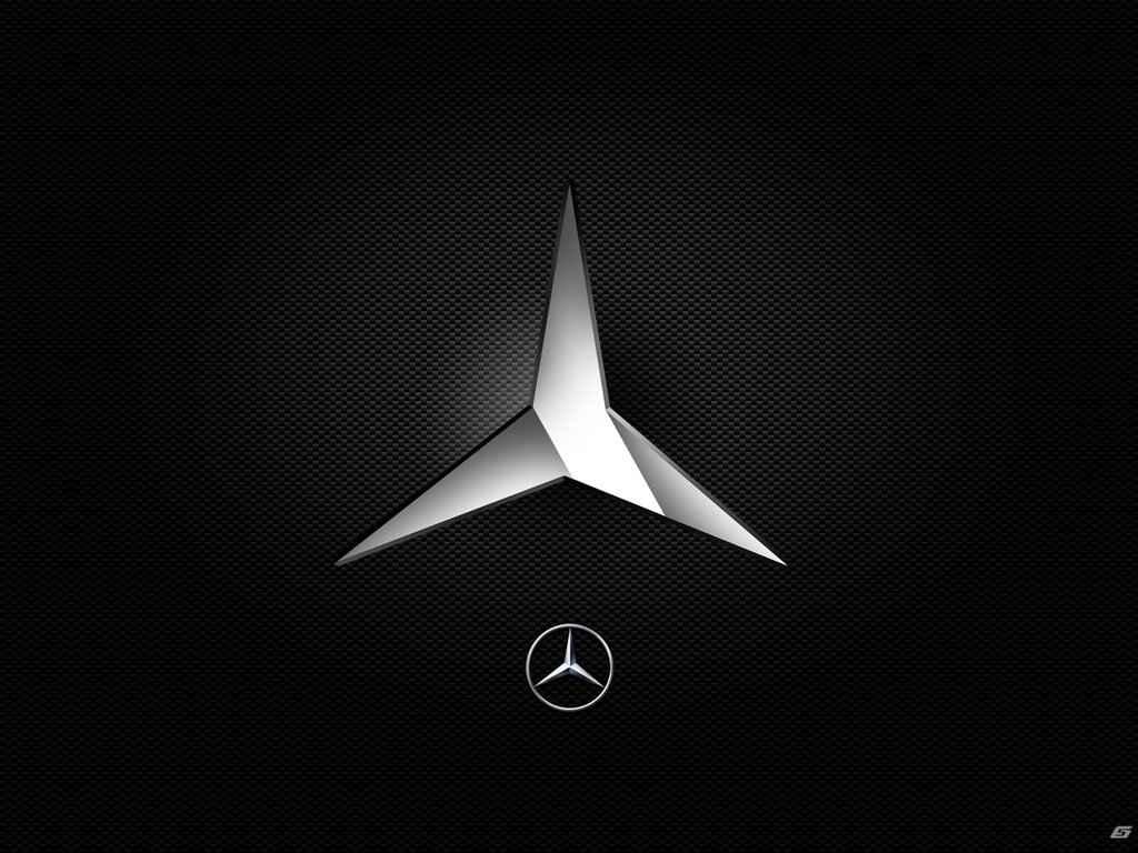Mercedes benz logo hintergrund
