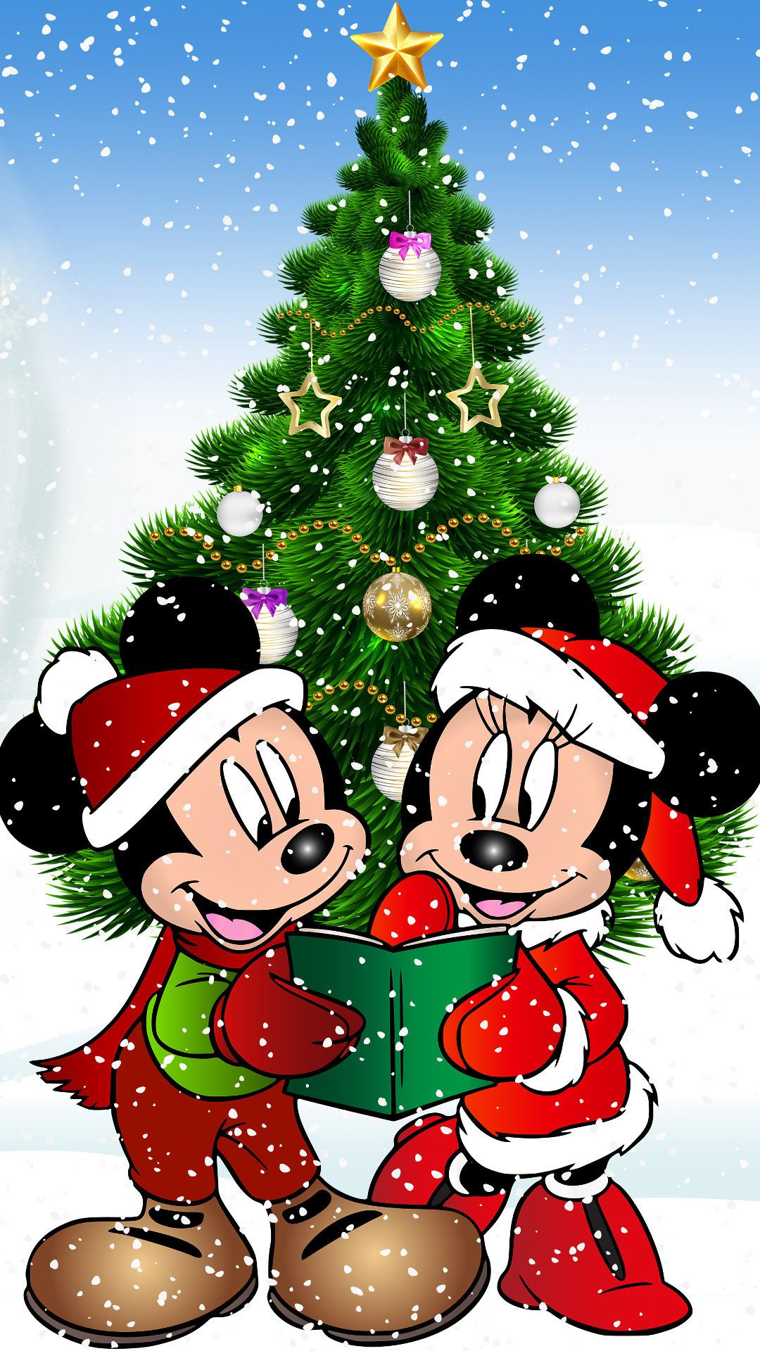 Disney Christmas Iphone Wallpapers Top Free Disney Christmas Iphone Backgrounds Wallpaperaccess