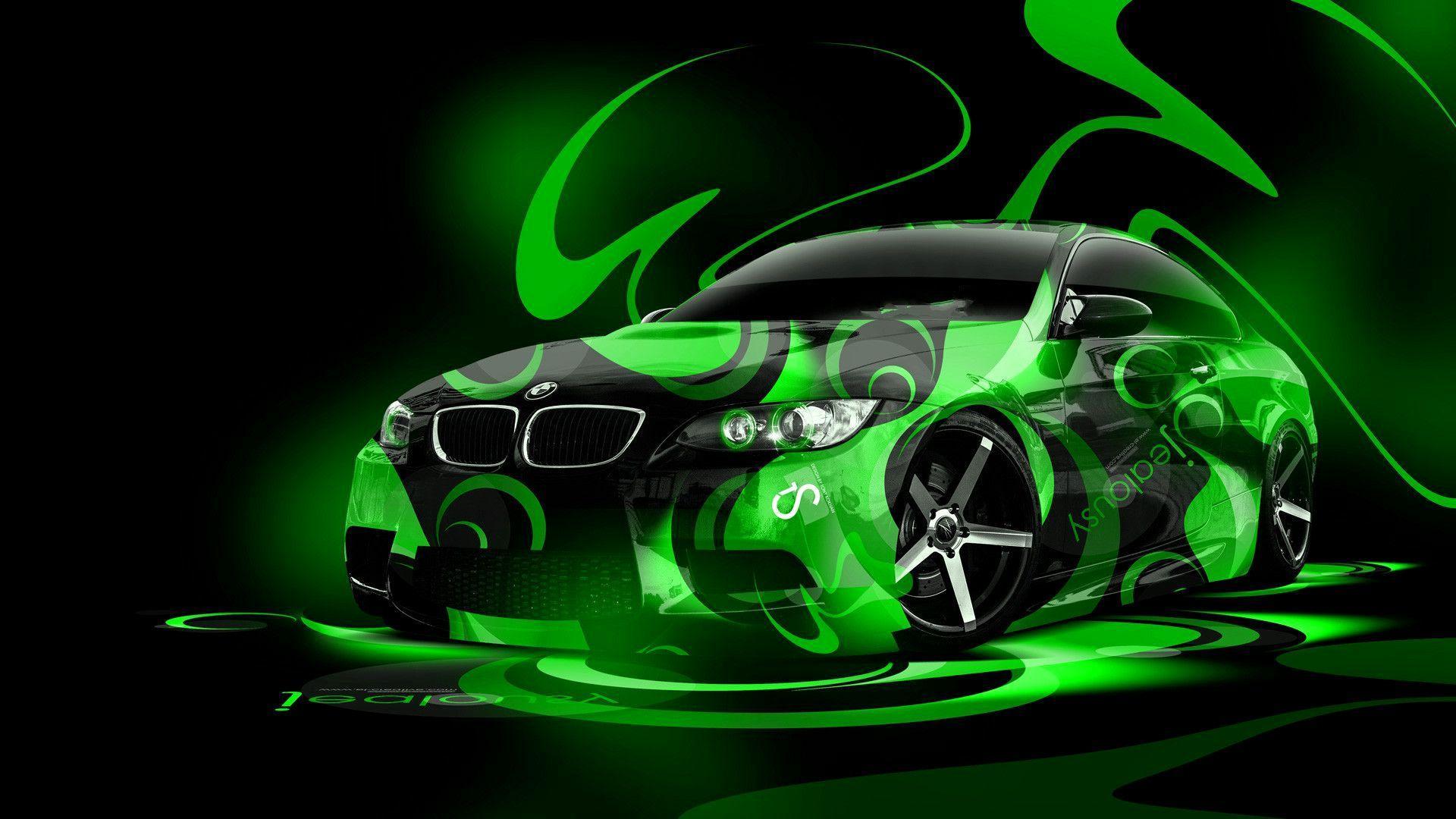 66 Best Free Neon Green Car Wallpapers