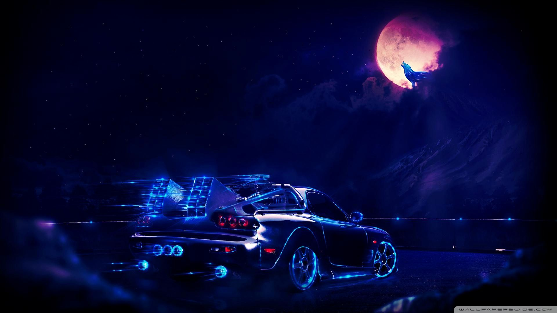 Cool Neon Cars Wallpapers Top Free Cool Neon Cars Backgrounds Wallpaperaccess