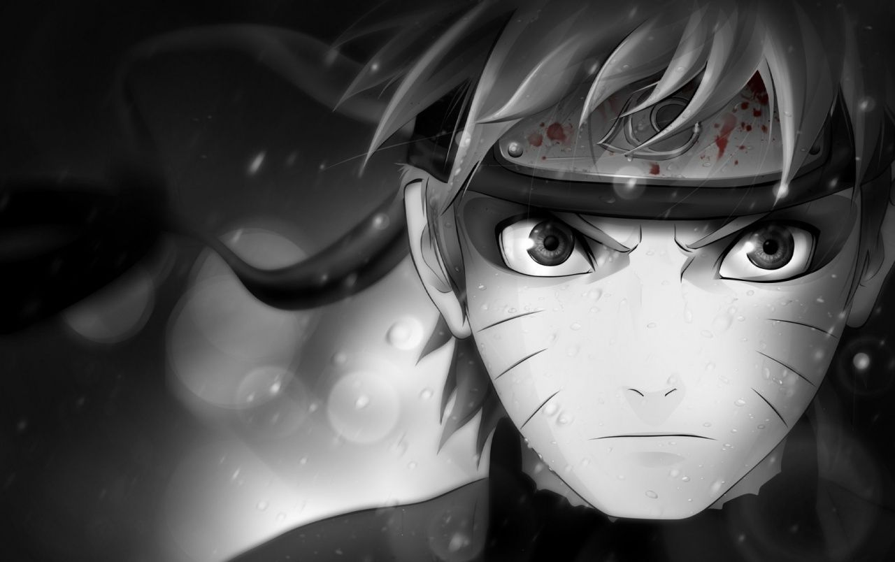Naruto Black And White Wallpapers Top Free Naruto Black And White Backgrounds Wallpaperaccess
