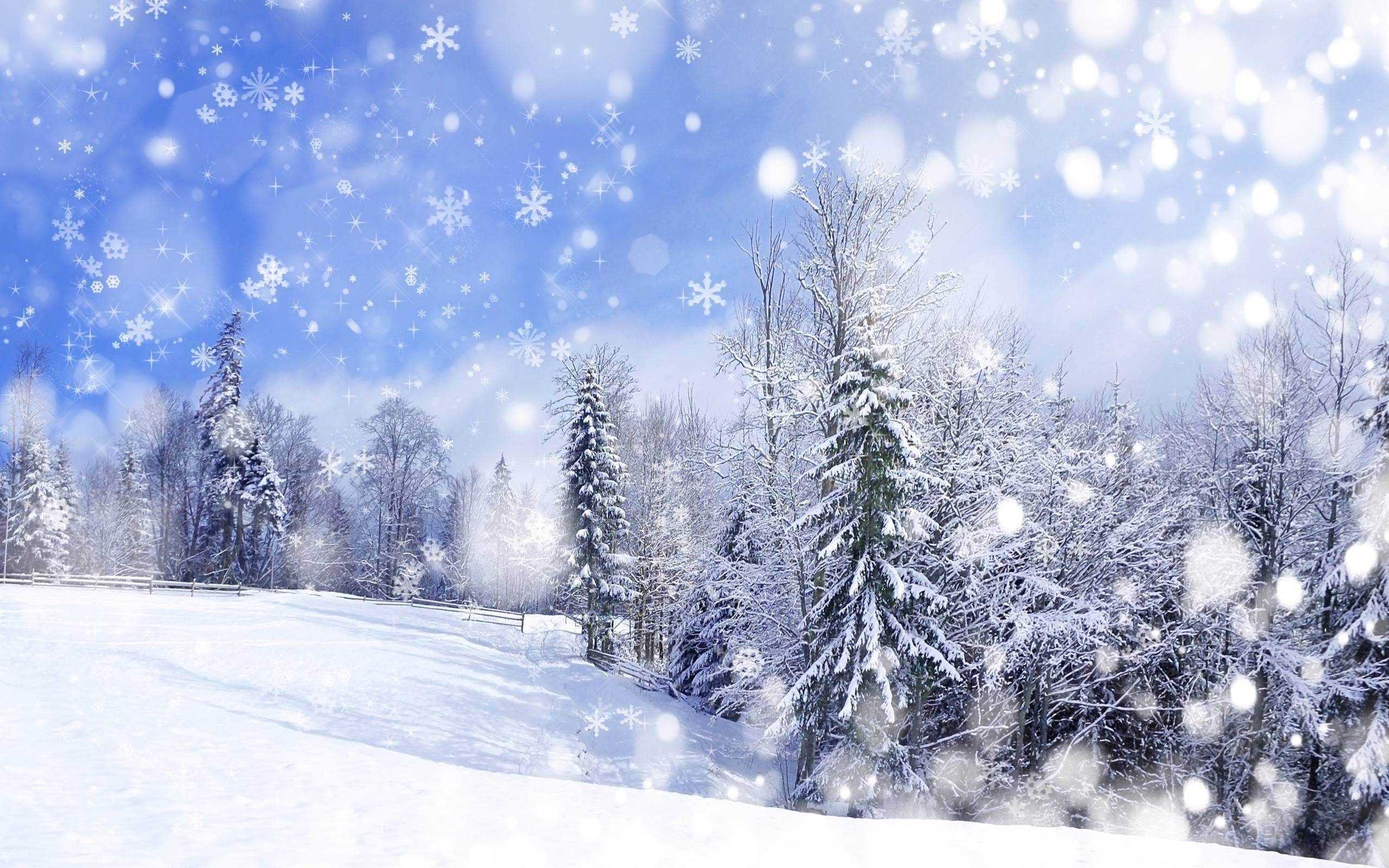 Snow Scenery Anime Wallpapers - Top Free Snow Scenery ...